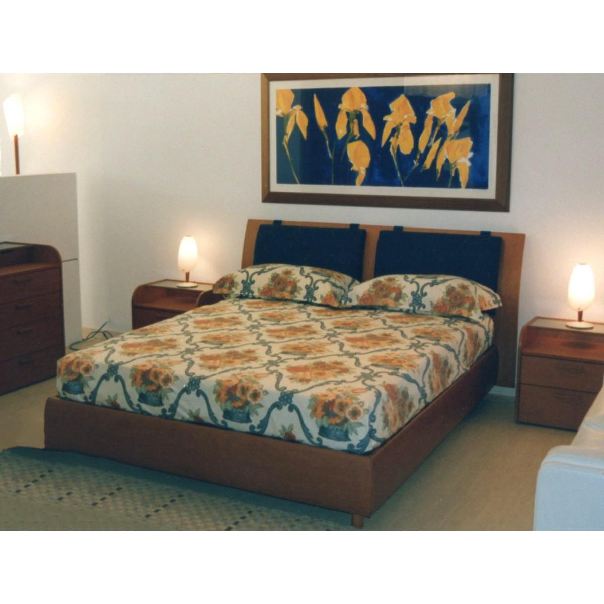Letto testata legno mobileffe outlet - Testata letto in legno ...