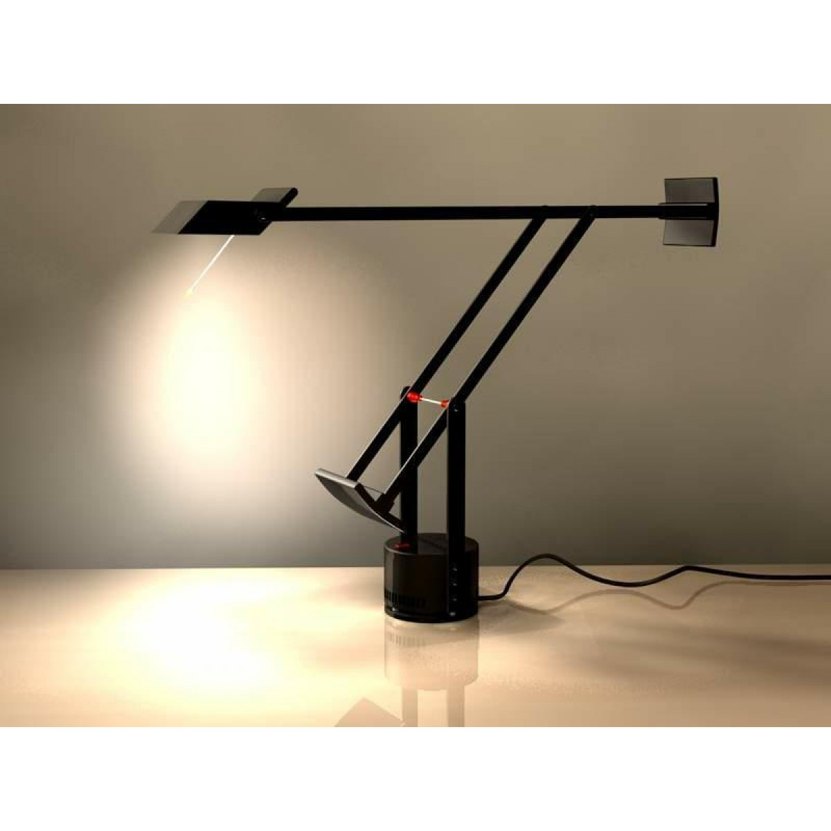 artemide tizio led black table lamp outlet. Black Bedroom Furniture Sets. Home Design Ideas