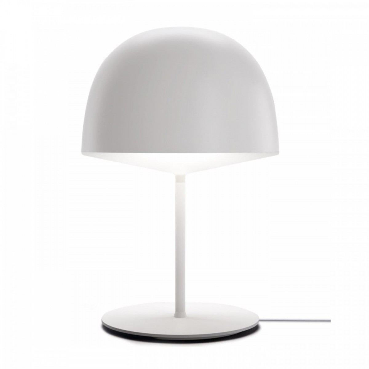 FontanaArte Cheshire White Table Lamp Outlet | Desout.com