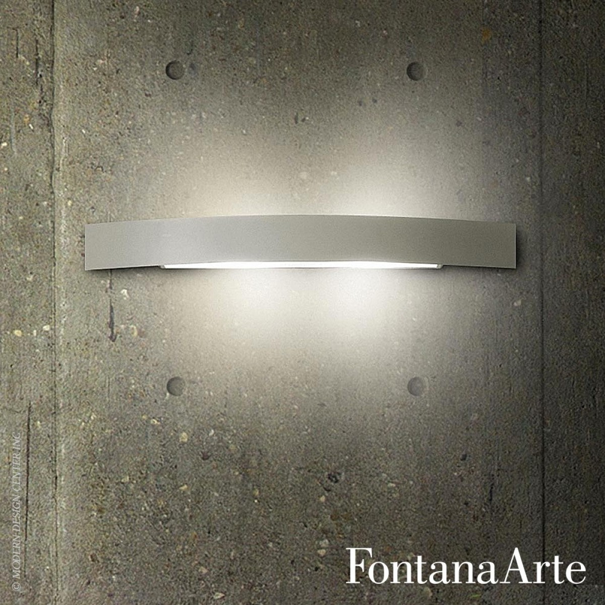 fontanaarte riga 36 inox wall lamp outlet. Black Bedroom Furniture Sets. Home Design Ideas