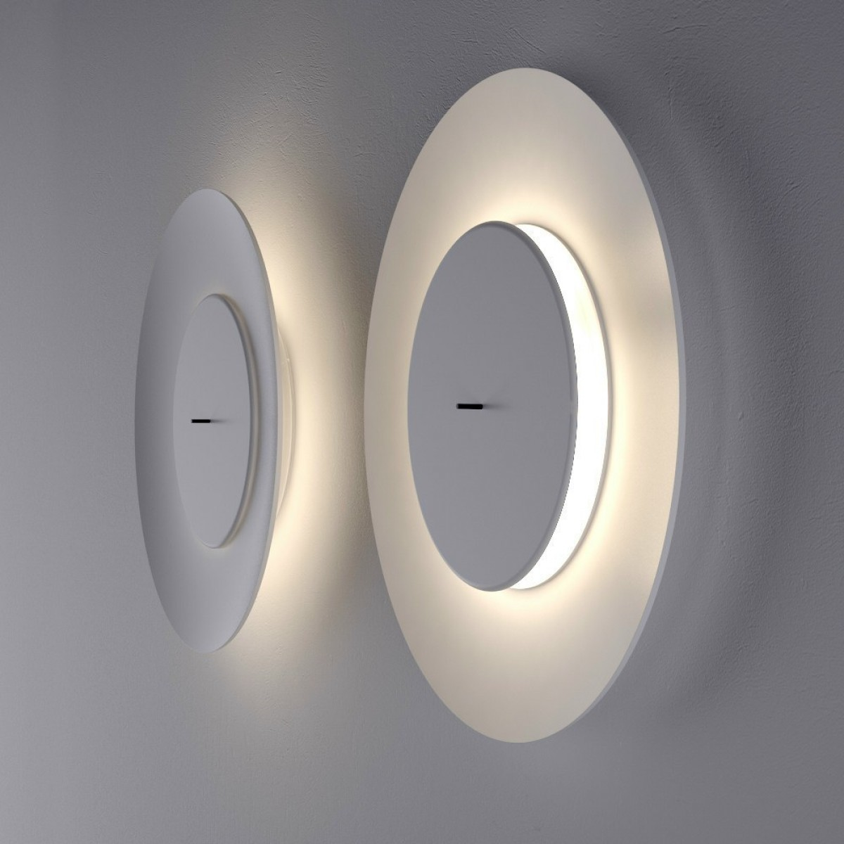 Fontanaarte Lunaire Bianca Wall Lamp Outlet Desout Com