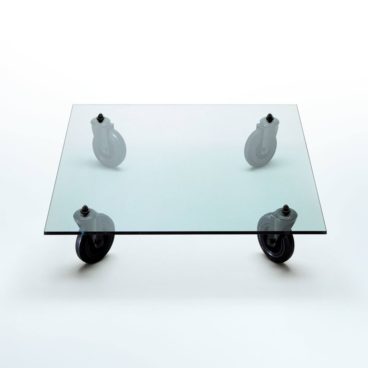 FontanaArte With Wheels 120 x 120 LIMITED EDITION Side Table ...