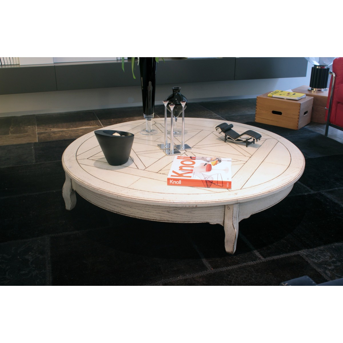 Grande Arredo Lacquered White Coffee Table Outlet