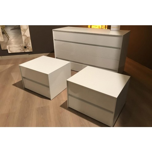 Pitagora 2 bedside tables and